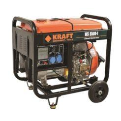 KRAFT WS 8500-1 Γεννήτρια Πετρελαίου Μονοφασική 6000W 498cc με Μίζα (63773)