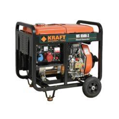 KRAFT WS 8500-3 Γεννήτρια Πετρελαίου Τριφασική 6000W 498cc με Μίζα (63774)