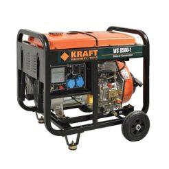 KRAFT WS 7500-1 Γεννήτρια Πετρελαίου Μονοφασική 5000W 438cc με Μίζα (63775)
