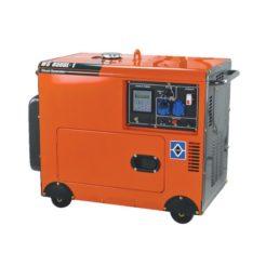 KRAFT WS 8500L-1 Γεννήτρια Πετρελαίου Μονοφασική Κλειστού Τύπου 6000W 498cc με Μίζα & ATS (63776)