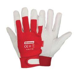 BENMAN Γάντια με Δέρμα και ΎφασμαVelcro