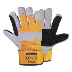 FFGROUP 30022 Γάντια Δερμάτινα με Υφασμα και Ενίσχυση XL