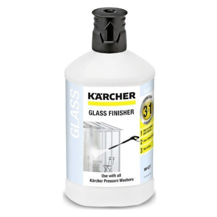 KARCHER Glass Finisher Καθαριστικό Γυάλινων Επιφανειών 1Lt (6.295-474.0)