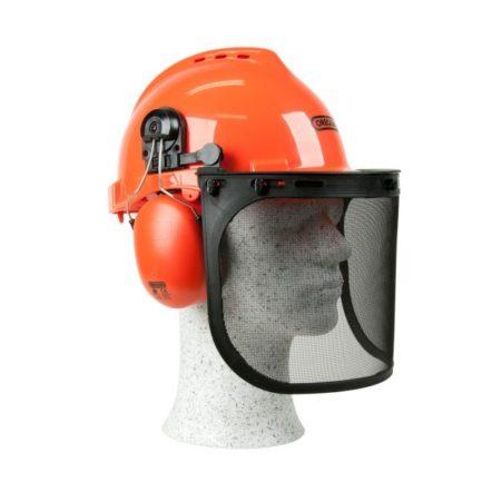 OREGON Yukon Κράνος Ασφαλείας Με Μάσκα Και Ωτοασπίδες (562412)