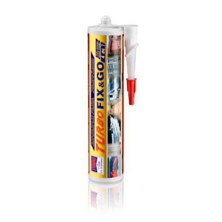 TURBO Fix & Go 98454 Κόλλα Μονταρίσματος Και Συναρμολόγησης Λευκή 290ml
