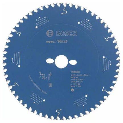BOSCH 2608644070 Expert for Wood Δίσκος Κοπής Ξύλου 270x30mm
