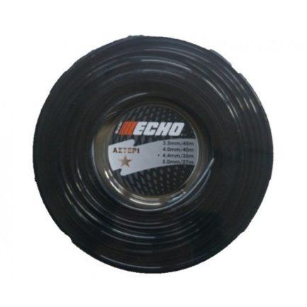 ECHO FOOS440167DI Μεσινέζα Αστέρι Μαύρη 4,4mm 35m