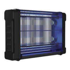 EUROLAMP 147-46045 Ηλεκτρικό Εντομοκτόνο Μαύρο 2x8W Με Αλυσίδα Ανάρτησης