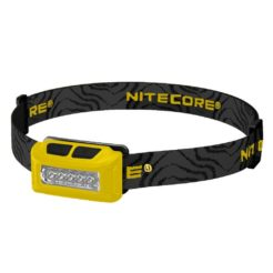 NITECORE NU10 YELLOW Φακός LED Κεφαλής Επαναφορτιζόμενος 160 Lumens