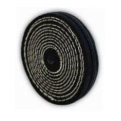 BULLE 64248 Δίσκος Γυαλίσματος Δίδυμου Τροχόυ πάνινος με ραφές