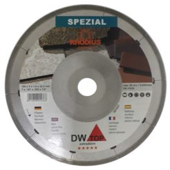 RHODIUS DW TOP Διαμαντόδισκος 180mm Μικρού Πάχους Κοπής Κεραμιδιών Πέτρας Μαρμάρου
