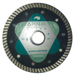 PENTAX Διαμαντόδισκος Κοπής Για Γρανίτη και Πέτρα 125mm