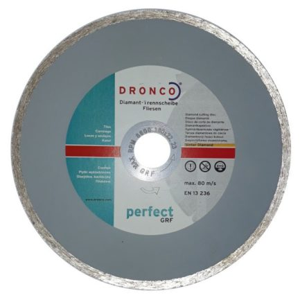 DRONCO 4180510 Διαμαντόδισκος Κοπής Για Πλακάκια 180mm