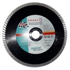 DRONCO 4180512 Διαμαντόδισκος Κοπής Κεραμικών 180mm