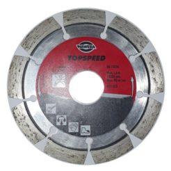 HAWERA TOPSPEED 200523 Διαμαντόδισκος Κοπής Σκληρών Πετρωμάτων- Γρανίτη 115mm