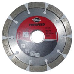 HAWERA TOPSPEED 200524 Διαμαντόδισκος Κοπής Σκληρών Πετρωμάτων- Γρανίτη 125mm