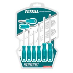 TOTAL THTDC250801 Κατσαβίδια Σετ 8τμχ