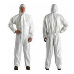 3Μ 4510 Φόρμα Προστασίας Λευκή Ολόσωμη