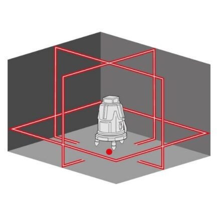 FLEX 458600 Αλφάδι Laser 5 Γραμμών