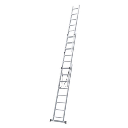 BULLE 631124 Σκάλα Αλουμινίου Τριπλή Επεκτεινόμενη