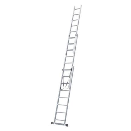 BULLE 631125 Σκάλα Αλουμινίου Τριπλή Επεκτεινόμενη