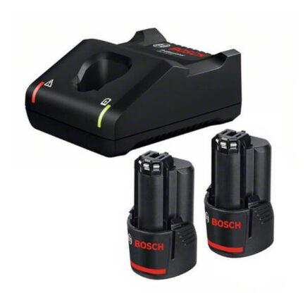 BOSCH 1600A019R8 Σετ Φορτιστής 2 Μπαταρίες