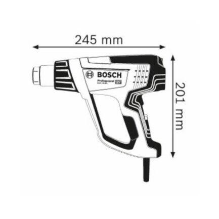 BOSCH Πιστόλι Θερμού Αέρα 2000W 06012A6200