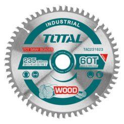 TOTAL TAC231623 Δίσκος Κοπής Ξύλου 235mm