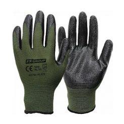 FFGROUP 41204 Γάντια Εργασίας XXL/11 Νιτριλίου Και Πολυεστερική