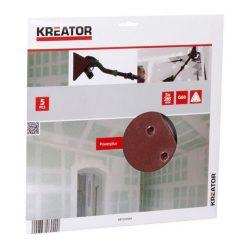 KREATOR 6689420 Τριγωνικά Φύλλα Λείανσης K60
