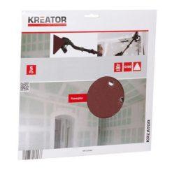 KREATOR 6689437 Τριγωνικά Φύλλα Λείανσης K100