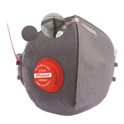FFGROUP 36458 Μάσκα Προστασίας FFP2 Άνθρακα