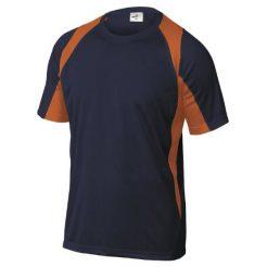 Delta Plus Bali Μπλουζάκι Μπλε-Πορτοκαλί