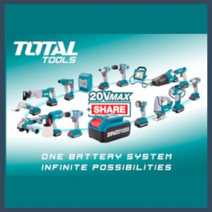 Total battery tools