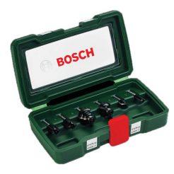BOSCH 2607019463 Φρέζες για Ρούτερ 8mm Σετ 6 τμχ