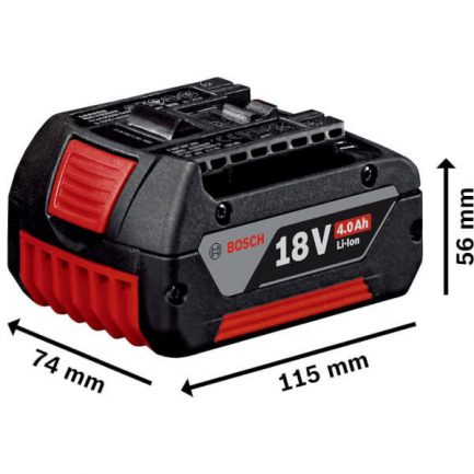 BOSCH GBA 18V 4Ah Μπαταρια Coolpack (1600Ζ00038)